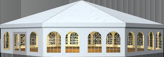 多边形篷房20m - 上海方派篷房租赁,欧式篷房生产加工